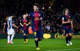 """3h ngày 2/11, K+1, Barca - Espanyol: Derby của """"gã khổng lồ"""""""