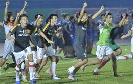 Đánh bại SV Hàn Quốc trên chấm 11m, U23 VN vào chung kết