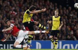 2h45, VTV3, đại chiến Dortmund - Arsenal: Trận cầu 6 điểm