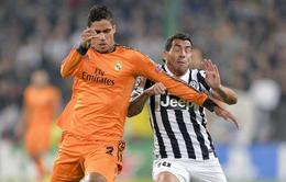 Juventus 2-2 Real Madrid: Chia điểm kịch tính