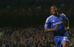 VIDEO: Eto'o xuất sắc, Chelsea vùi dập Schalke