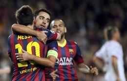 Xavi chính thức phá vỡ kỷ lục Champions League của Raul