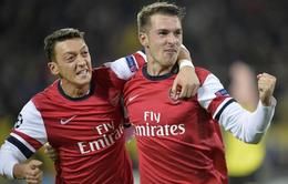 VIDEO: Ramsey toả sáng, Arsenal phục thù Dortmund