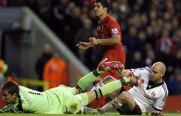 VIDEO: Đại thắng Fulham, Liverpool đe doạ ngôi đầu của Arsenal