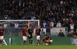 VIDEO: Roma mất điểm đáng tiếc ở phút bù giờ
