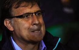 HLV Martino xem chấn thương của Messi là tất yếu