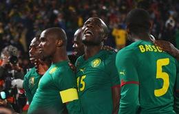Vùi dập Tunisia, Cameroon giành vé dự World Cup 2014