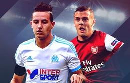 """2h45 ngày 27/11, K+1, Arsenal - Marseille: """"Pháo"""" thẳng tiến!"""