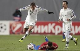 VIDEO, CSKA 1-3 Bayern Munich: Quyền lực của nhà ĐKVĐ