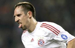 """Ribery đố kỵ Cris Ronaldo: """"Tôi còn được yêu quý hơn thế nhiều!"""""""
