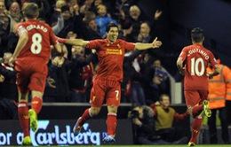 Liverpool 5-1 Norwich: Chiến thắng của Luis Suarez (VIDEO)