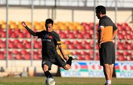 U23 Việt Nam và buổi tập đầu tiên trên đất Myanmar
