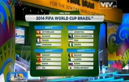 Toàn cảnh lễ bốc thăm chia bảng World Cup 2014