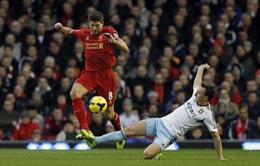 """Liverpool 4 - 1 West Ham: Trận đấu của những pha """"đốt đền"""" (VIDEO)"""