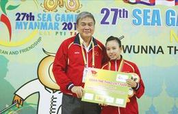 SEA Games 27, tin nóng 8/12: Wushu được thưởng nóng 12 triệu đồng