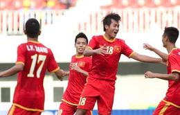 U23 Việt Nam 7-0 U23 Brunei: Đẳng cấp lên tiếng! (VIDEO)