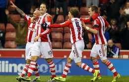 Stoke City 3-2 Chelsea: Mou-Team thất thủ đau đớn! (VIDEO)
