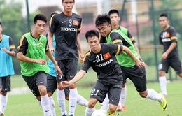 """U23 Việt Nam tập dứt điểm trước """"trận đánh lớn"""" gặp U23 Singapore"""