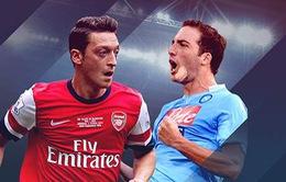 Napoli - Arsenal: Đầu bảng nhưng vẫn có thể bị loại