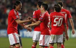 Benfica 2-1 PSG: Thắng vẫn xuống Europa League (VIDEO)