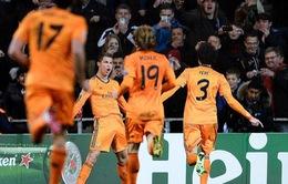 Copenhagen 0-2 Real Madrid: Ronaldo đi vào lịch sử Champions League (VIDEO)