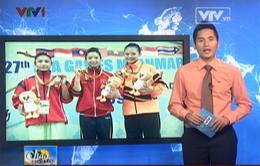 SEA Games 27: Niềm vui ngày trở về của các tuyển thủ wushu Việt Nam