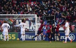 Osasuna 2-2 Real Madrid: Kịch tính và bất ngờ đến phút cuối (VIDEO)
