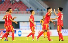 U23 Việt Nam 5-0 U23 Lào: Chiến thắng nhẹ nhàng (VIDEO)