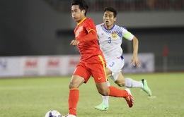 """SEA Games 27: Nhìn lại chiến thắng """"5 sao"""" của U23 Việt Nam trước U23 Lào"""