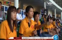 ĐT nữ Việt Nam lạc quan trước trận gặp Myanmar