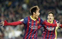 Barcelona 2-1 Villarreal: Neymar lại toả sáng (VIDEO)