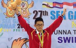 """SEA Games 27: Nhìn lại kỳ tích của """"hot boy"""" Lâm Quang Nhật trên đường đua xanh"""
