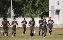 """SEA Games 27: U23 Việt Nam lạc quan trước trận chiến """"sinh tử"""""""