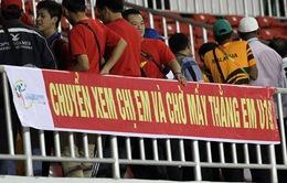 SEA Games 27: Sau thất bại của U23, CĐV chuyển sang cổ vũ bóng đá nữ