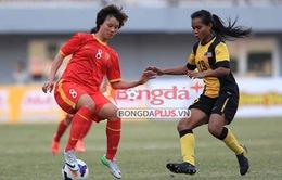 """SEA Games 27: Xem lại màn """"hành hạ"""" ĐT nữ Malaysia của các cô gái Việt Nam"""