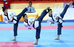 SEA Games 27: 3 cô gái vàng của taekwondo Việt Nam