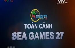 Toàn cảnh SEA Games 27 ngày 18/12