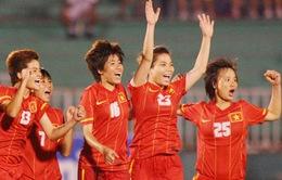 SEA Games 27: Người hâm mộ phấn khích sau trận đại thắng của ĐT nữ Việt Nam