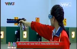 SEA Games 27: Niềm vui ngày trở về của các xạ thủ Việt Nam