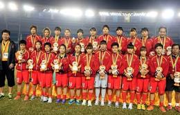 SEA Games 27: Bị soán ngôi vô địch, tuyển nữ vẫn được thưởng 3 tỷ đồng