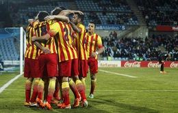 Tổng hợp bóng đá châu Âu cuối tuần: Real thắng nhọc, Barca vùi dập Getafe