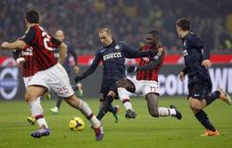 Inter 1-0 Milan: Đôi công sòng phẳng, tiếc cho Milan (VIDEO)