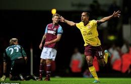 West Ham - Arsenal: Lấy lại ngôi đầu (K+1, BĐTV)