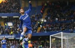 Chelsea 1-0 Swansea: Mou-Team nhọc nhằn giành 3 điểm (VIDEO)