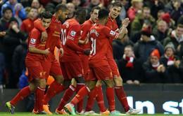 Liverpool 2-0 Hull City: The Kop trở lại top 4 (VIDEO)