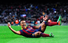 Barcelona 4-0 Elche: Vắng Messi đã có Alexis Sanchez (VIDEO)