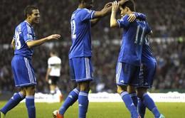 Derby 0-2 Chelsea: The Blues tiến bước nhẹ nhàng ở FA Cup (VIDEO)