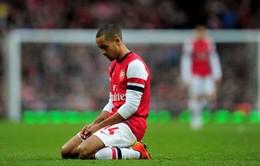 Walcott bỏ lỡ World Cup 2014 vì chấn thương