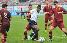 Tổng hợp bàn thắng trận U19 AS Roma 2-1 U19 Tottenham