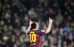Barca 4-0 Getafe: Messi lập cú đúp trong ngày trở lại (VIDEO)